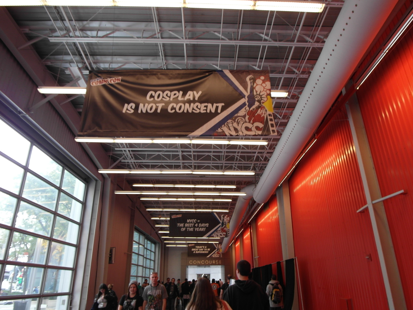 NYCC 2015 - Cosplay is not consent
